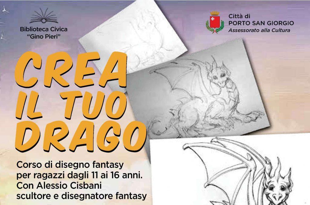 """""""CREA IL TUO DRAGO"""" Corso di disegno fantasy"""
