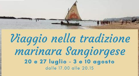 Viaggio nella tradizione marinara Sangiorgese